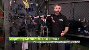 How To Adjust Mechanical Disc <b>Brakes</b> by Performance <b>Bicycle</b> ...