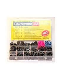 <b>Набор</b> сантехнических прокладок для смесителя Сантехник №<b>3</b> ...