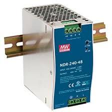 MEAN WELL NDR-<b>240</b>-48 <b>48V</b> 5 Amp <b>240W</b> Industrial <b>DIN Rail</b> ...