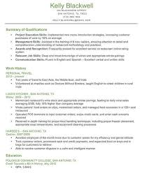 resume skills section list   job resume synonymsresume skills section list types of important skills for your resume monster qualifications for resume example