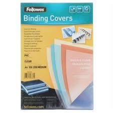 <b>Обложка</b> для переплета <b>Fellowes</b> (FS-53761) <b>Transparent</b>, пвх ...