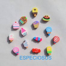 <b>50pcs DIY Jewelry Accessories</b> polymer clay beads Cartoon Ice ...