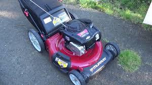 walmart murray lawn mower review