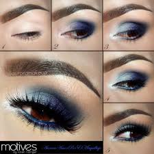 makeup for black dress and brown eyes photo 1