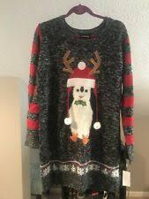 <b>Penguin</b> Women's Ugly Sweater Sweaters for sale   eBay