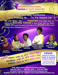 international women of faith ministry nd anniversary conference women of faith flyer 4