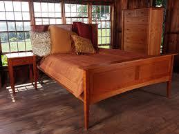 darkened cherry wood in solid cherry bedroom set natural sunlight effect cherry wood furniture