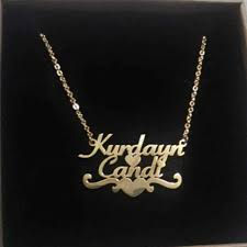 <b>Custom</b> Best Friend Name Necklaces For Women Nameplate ...