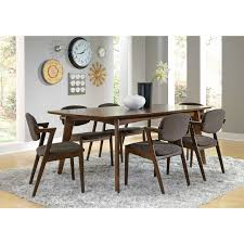 table gorgeous modern dining solid dining room decoration using rectangular solid walnut wood extendable