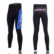 Discovery <b>Mens Winter</b> Bicycle Pants Padded Cycling Tights Cycle ...
