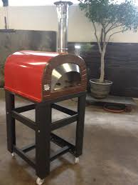 pizza oven red