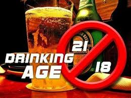Lower The Drinking Age To