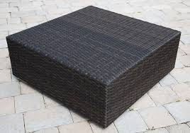 source outdoor manhattan wicker coffee table add wishlist source outdoor manhattan double