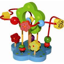 <b>Деревянная игрушка QiQu Wooden</b> Toy Factory Лабиринт Цветочек