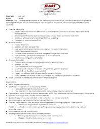 resume  accounting job descriptions  moresume costaff accountant job description