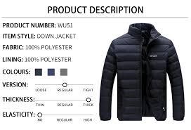 <b>Big Size</b> 2019 White Duck Down <b>Men's Winter</b> Jacket Ultralight ...