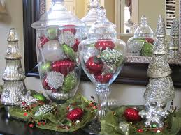 apothecary jar christmas display decoration christmascenterpieces  images about wreaths on pinterest mercury glass glue guns and ornamen