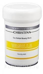 Ванильная <b>маска красоты для</b> сухой кожи Christina Sea Herbal ...