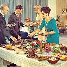 Image result for buffet dinner party