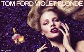 "Lara Stone for <b>Tom Ford</b> ""<b>Violet</b> Blonde"" Fragrance by Mert & Marcus"