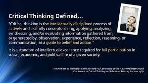 Skills for critical thinking   C    What is critical thinking     YouTube Definitions