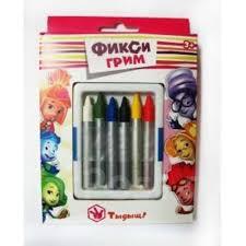 <b>Карандаши для грима</b> цветные Фиксики - Карнавальные ...