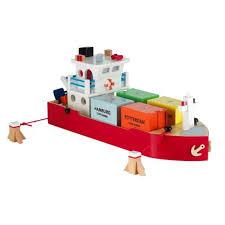 Toy Container Ship | <b>Деревянные игрушки</b>