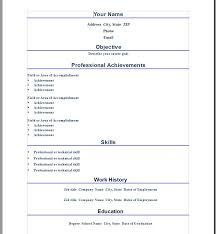 resume format teaching profession    seangarrette cobasic format sample microsoft word resume template free download with professional achievements and skills