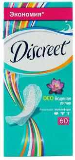 <b>Discreet Deo</b> Water Lily Multiform <b>прокладки</b> ежедневные ...