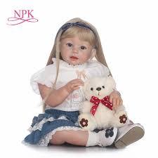 NPK <b>70cm Silicone Reborn</b> Babies Lifelike Toddler Angel Baby ...