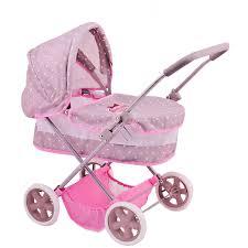 Классическая коляска для <b>куклы Bambolina</b> Boutique