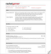 free professional resume templatefree sample resume templates
