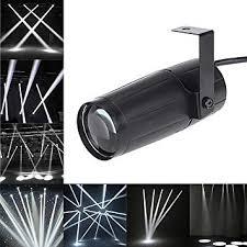 <b>LED</b> Beam Pinspot Light KINGSO 3W Mini <b>Stage Lights Spotlight</b> ...