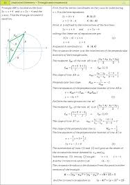 analytical geometry examples 18