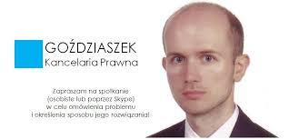 Kancelaria Adwokacka Łukasz Goździaszek ul. R. Wagnera 17/4 52-129 Wrocław www.gozdziaszek.pl e-mail: kancelaria@gozdziaszek.pl. Skype: lukasz.gozdziaszek - image_2
