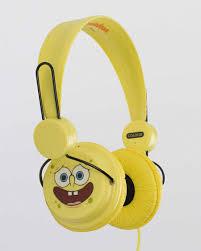 <b>Наушники Coloud Spongebob</b> Happy Yellow купить с доставкой в ...