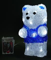 "<b>Светодиодная фигура</b> ""Медвежонок Умка"" на <b>батарейках</b>, 18 <b>led</b> ..."