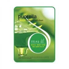 <b>Тканевая маска</b> для лица Puorella Aloe <b>Natural</b> Mask Sheet ...