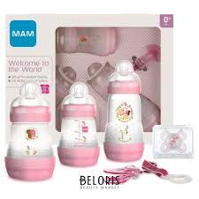<b>Подарочный набор</b> для новорожденных <b>Welcome</b> to the world ...