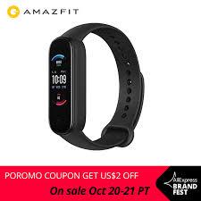2020 New <b>Amazfit Band 5 Smart</b> Bracelet Color Display Heart Rate ...