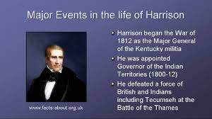 president william harrison biography