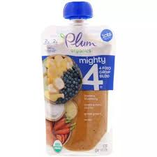 Plum Organics <b>Mighty 4</b> Banana