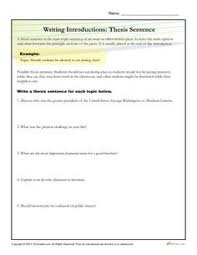 thesis statement on pinterest how to write a thesis statement worksheet activity