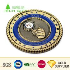 Wholesale China <b>Custom</b> Metal Die Struck <b>Double Sided</b> 3D ...
