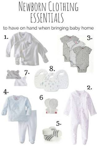 New Baby Checklist: Must-Haves For Preparing Parents - Baby Clothing