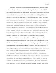 essay on fear  wwwgxartorg student example essay