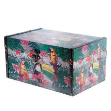 <b>Сундук</b> 30x19.5x15 <b>Fuzhou fashion</b> home tropic birds (2925868 ...