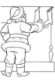 Раскраска: <b>рождественские носки</b> для подарков