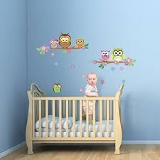 <b>Flower Owl</b> Wall Decal: Amazon.co.uk