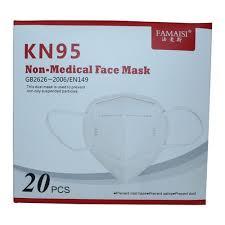 FACE <b>MASK KN95 20 PCS</b> BOX, <b>KN95 Mask</b>, FFP2 <b>Mask</b>, <b>N95</b> ...